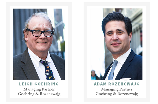 Leigh Goehring and Adam Rozencwajg